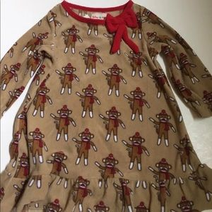 Other - Sock Monkey dress 2T